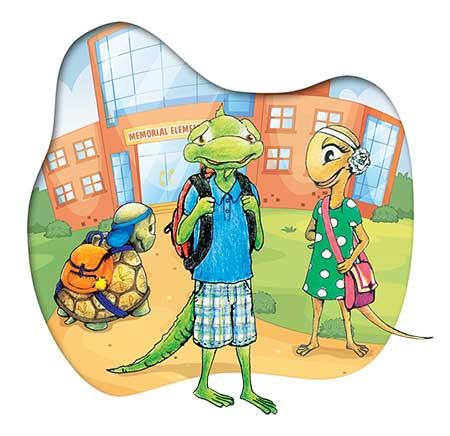 Chilren's Author, Iggy the Iguana, author, creativity literacy expert, school visits