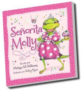 senorita Molly, children's author, author school visits, creativity literacy expert